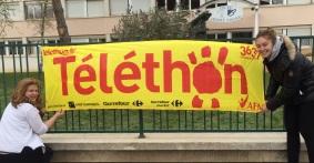 « Tous solidaires au Lycée Désiré Nisard »  pour la 29ème  édition du TELETHON 2015