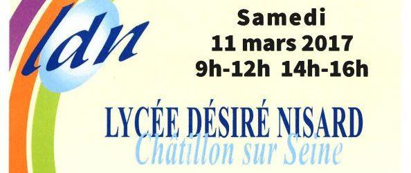 Portes ouvertes : Lycée Désiré Nisard